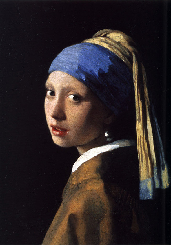 Girl with a Pearl Earring, oil on canvas, 1665.