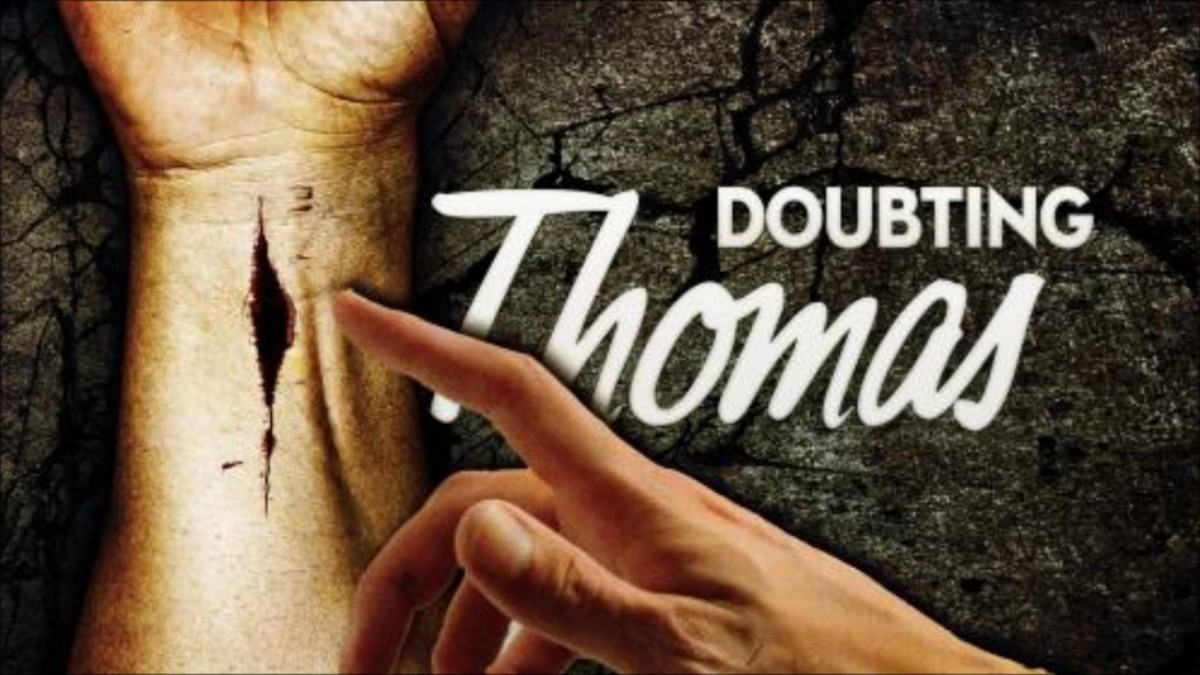 Doubting Thomas; Are you half full or half empty? | practical insanity